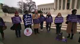 """Are """"buffer zones"""" outside abortion clinics constitutional?"""