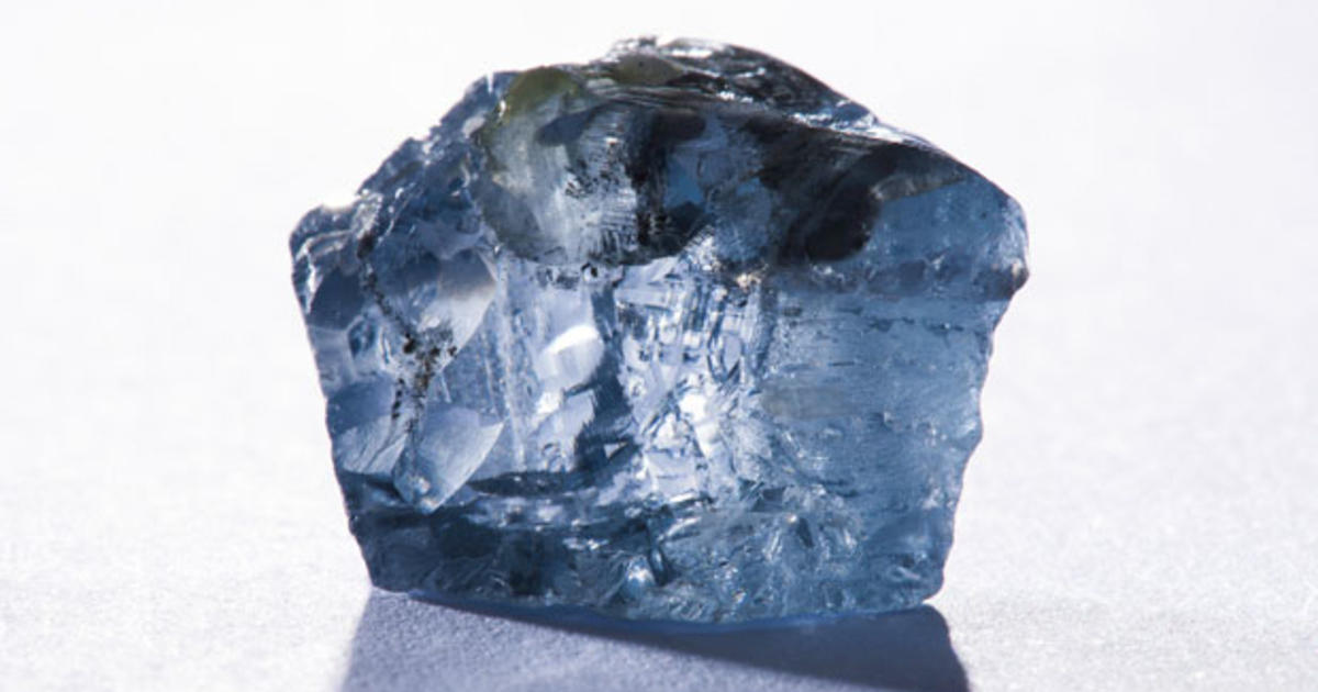 Rare Prized Blue Diamond Found In Mine In South Africa