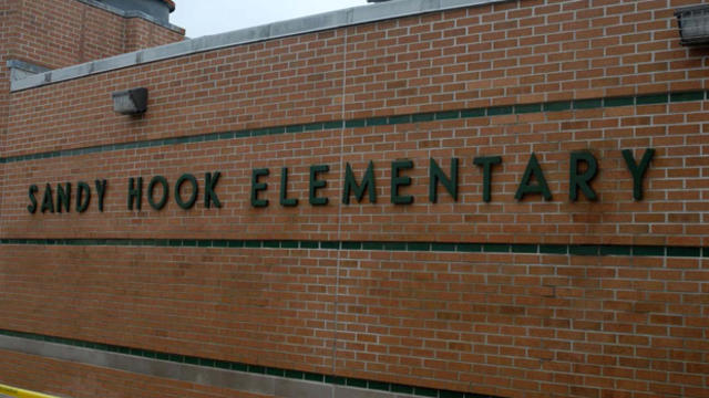 The exterior of the Sandy Hook Elementary School is seen following the Dec. 14, 2012, shooting rampage on an unspecified date in Newtown, Conn., in this handout crime scene evidence photo provided by the Connecticut State Police.