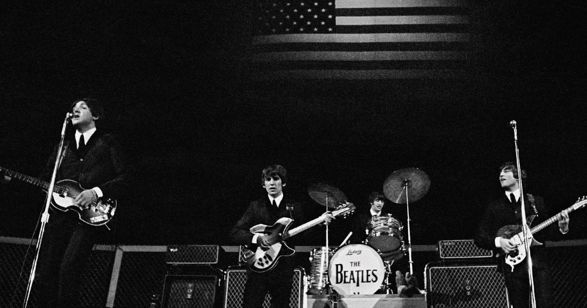 The Beatles' record-breaking 1964 North American tour