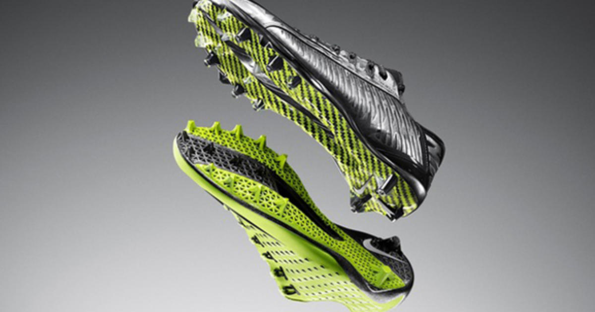 3D printing helps Nike design Super Bowl cleat - CBS News 14f97b782