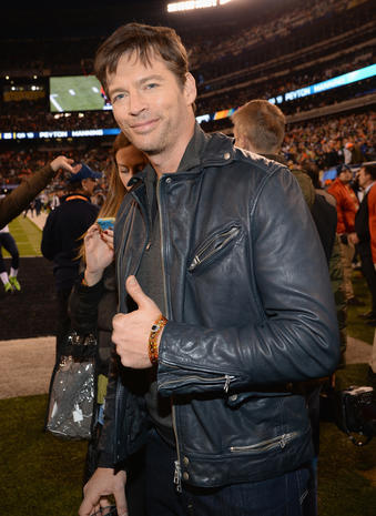 Stars at the Super Bowl 2014