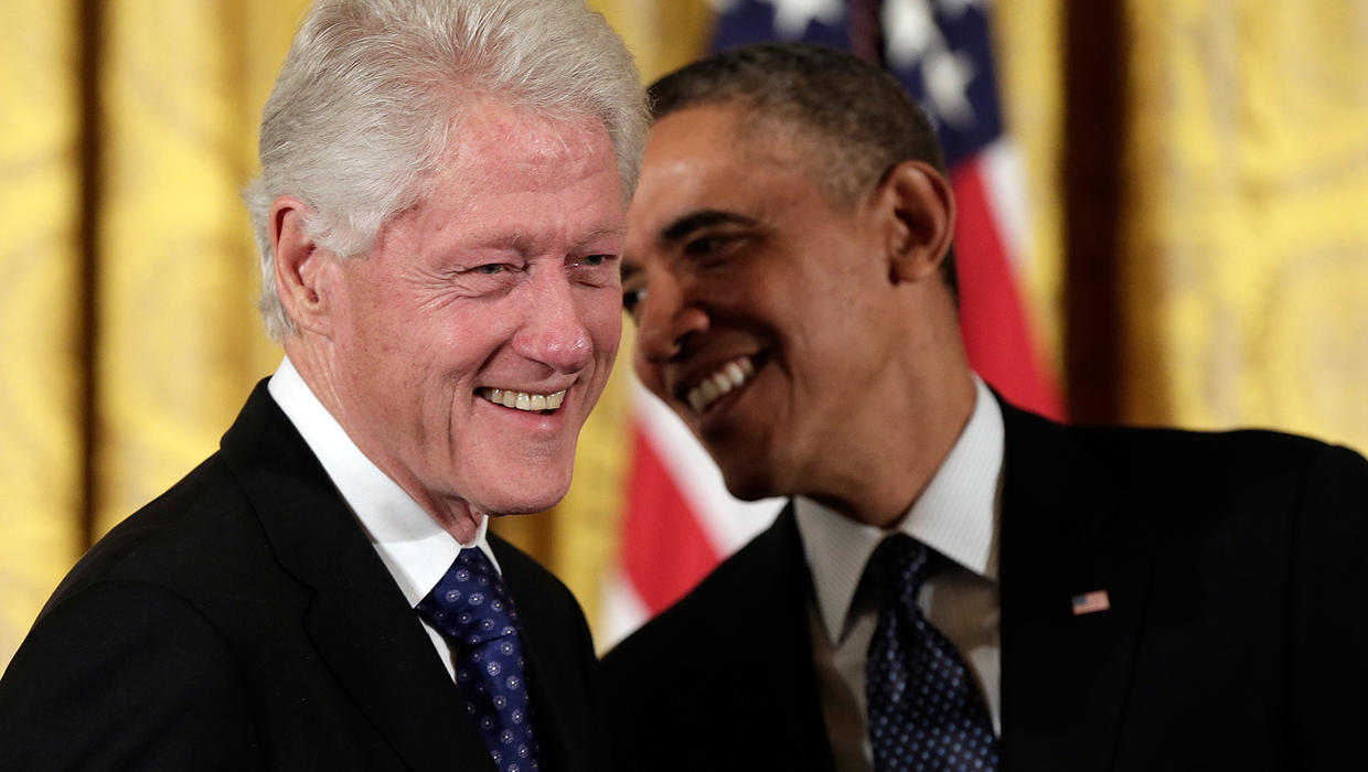 a comparison of presidents bill clintons and barack obamas speeches in the wake of tragedy