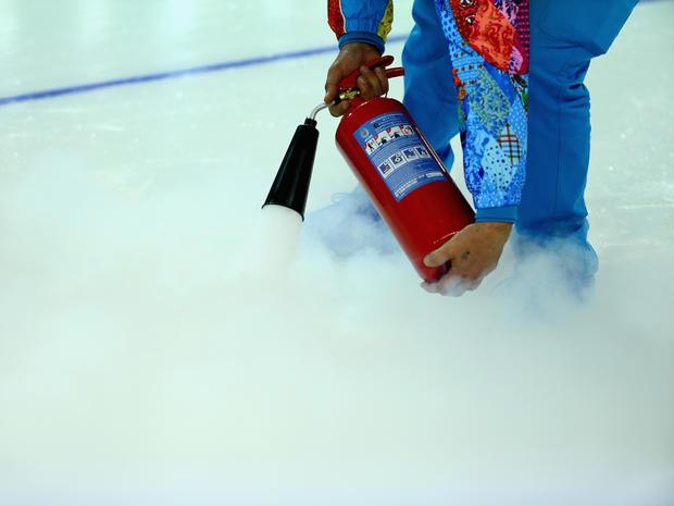 Speed Skating ice