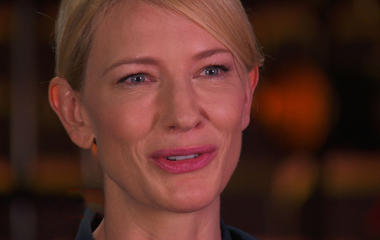 """Cate Blanchett on studying Ruth Madoff for """"Blue Jasmine"""" role"""