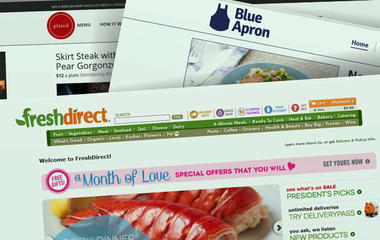 Online companies delivering ready-to-cook meals