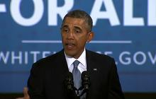 Obama vows to double gas mileage by 2025