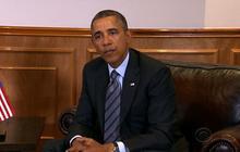 Obama urges restraint in Ukraine crisis