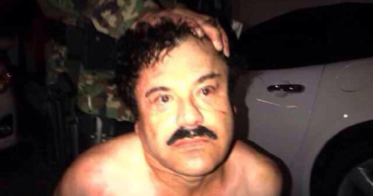 joaquin  u0026quot el chapo u0026quot  guzman  sinaloa cartel chief  captured