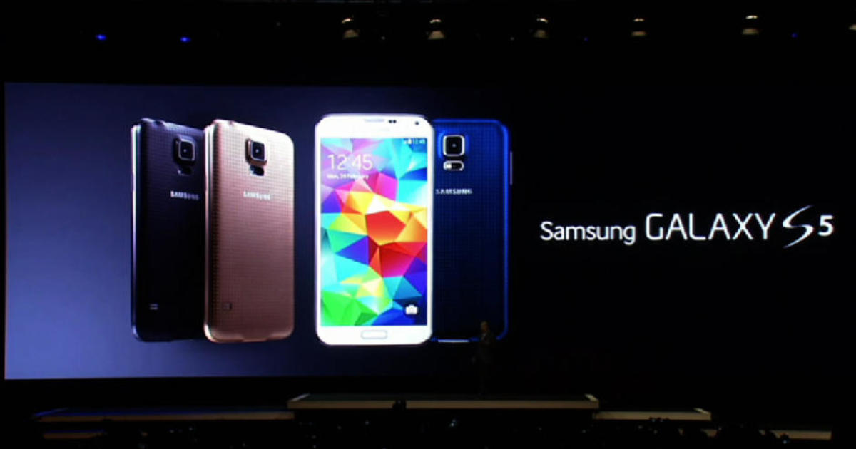 Samsung unveils Galaxy S5 phone with fingerprint sensor ...
