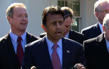 Bobby Jindal offers Obama some advice at governors' meeting