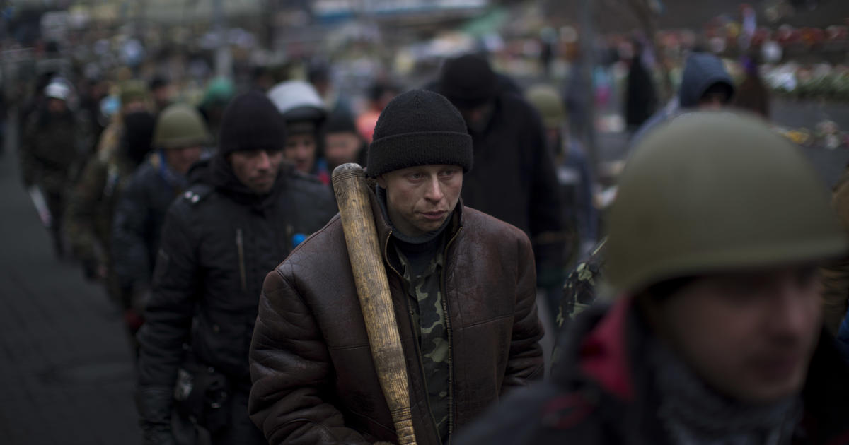 Ukraine clashes erupt between opposition, Russia-leaning ...