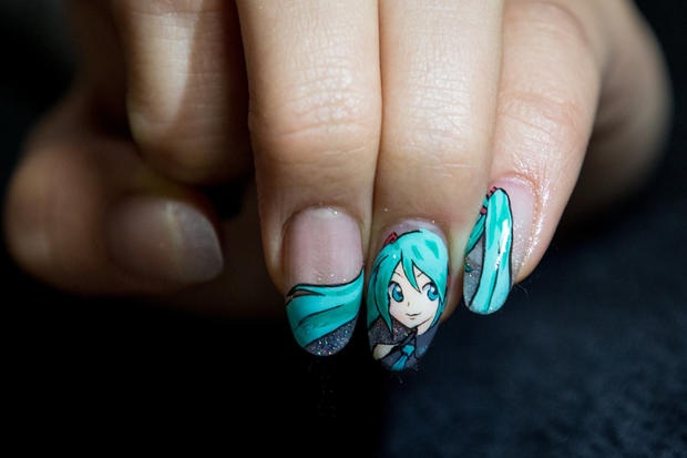 Anime art nails it