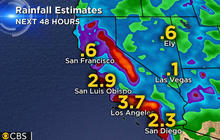 West Coast braces for back-to-back storms