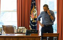 Obama tells Putin to step back from Ukraine