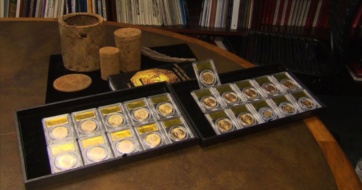 China's latest export boom: Fake gold coins - CBS News