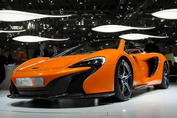 Hot wheels at the Geneva Auto Show
