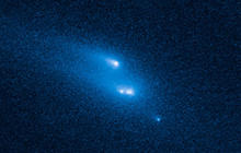 NASA's Hubble captures first-of-its-kind asteroid breakup