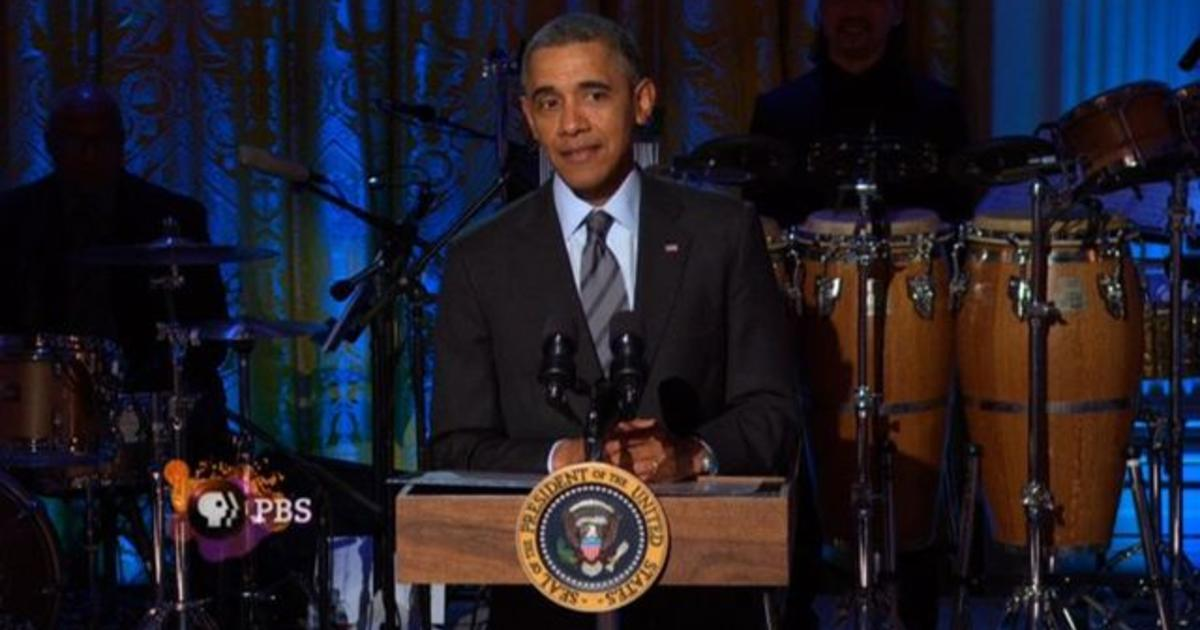 """Obama has trouble spelling """"Respect"""" at Aretha Franklin tribute"""