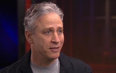 """The real Jon Stewart on """"the Jon Stewart of Egypt"""""""