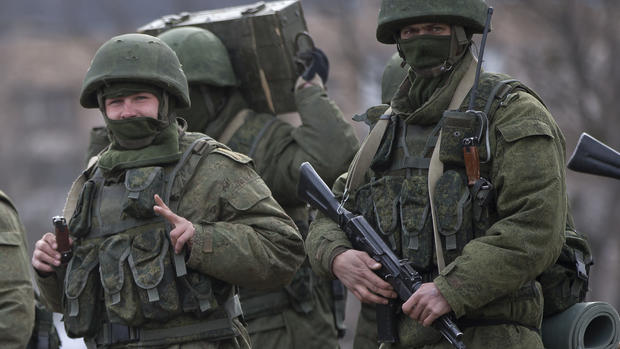 Russia annexes Crimea