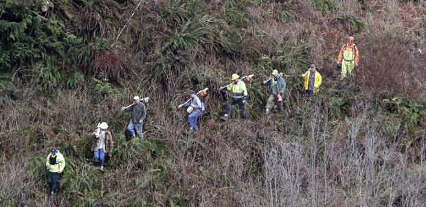 Many still missing after massive mudslide