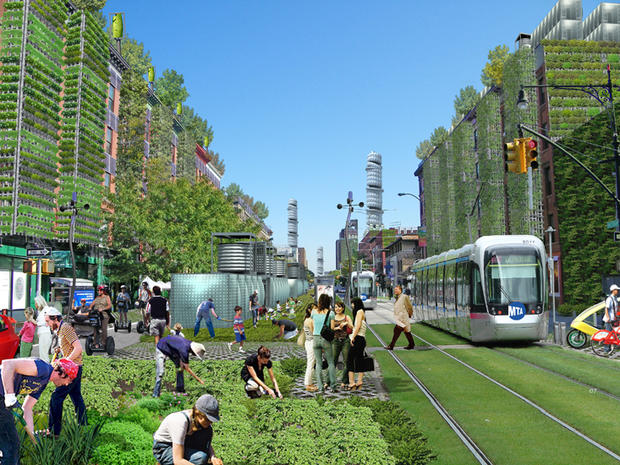 What would a sustainable NYC look like?