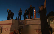 Hundreds protest fatal shooting of homeless man by Albuquerque Police