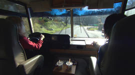 On the road with the Health Wagon
