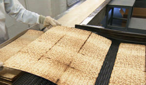 Making some of the world's best Matzo
