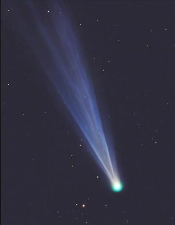 A comet's last gasp