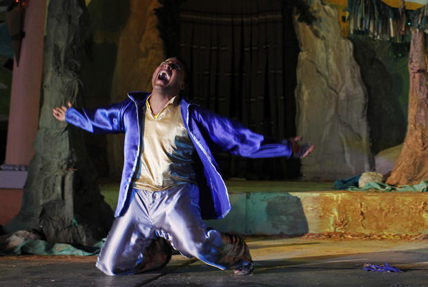 "Prisoners stage ""Jesus Christ Superstar"" in Peru"