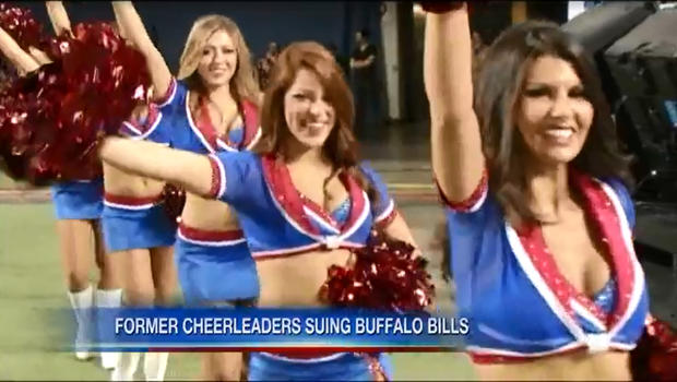 Bills cheerleaders Buffalo