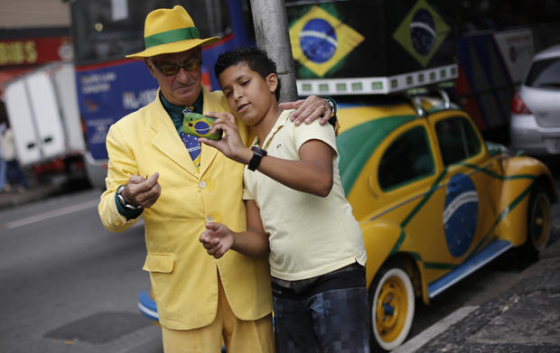 A look at Brazil ahead of the World Cup
