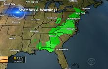 Severe storm threat not over yet