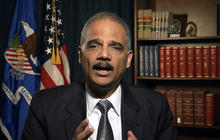"Eric Holder: No such thing as ""too big to jail"""