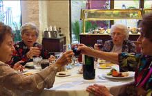 Living past 90: Caffeine, alcohol and extra weight may be good for you