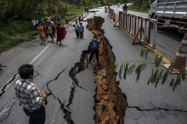 Earthquake hits Thailand