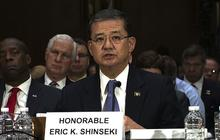"Eric Shinseki ""mad as hell"" about Veterans Affairs healthcare problems"