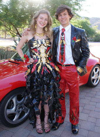 Belle Of The Ball - Duct tape fashions - Pictures - CBS News