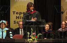 Michelle Obama warns of encroaching segregation in schools
