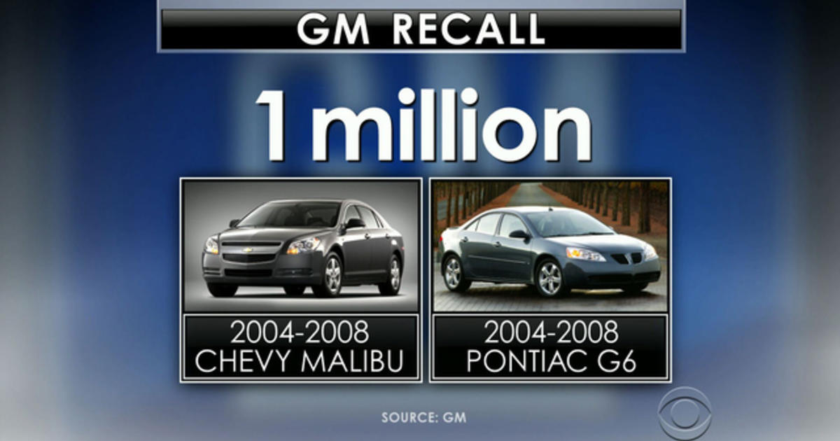 GM recalls 2 4 million more vehicles, totaling 13 5 million for year