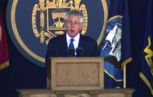 Chuck Hagel: New officers must lead fight against military sexual assault
