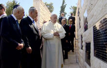 Muslim leader, rabbi join Pope Francis on trip to Holy Land