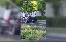 California man drives off with red light camera after hit-and-run crash