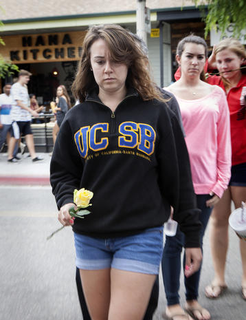Santa Barbara mourns victims of shooting rampage