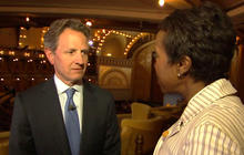 """Timothy Geithner: The '08 financial crash was """"terrifying"""""""
