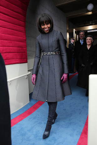 First Lady's fabulous fashions