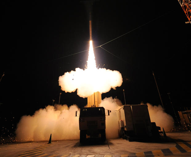 Lockeed Martin conducts a successful flight test of the Terminal High Altitude Area Defense (THAAD) Weapon System