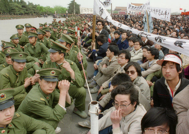 Looking back at Tiananmen Square